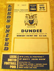 1968 FAIRS CUP SEMI FINAL - LEEDS UNITED v DUNDEE - 15 MAY