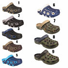 MENS BEACH HOSPITAL GARDEN KITCHEN SLIP ON WORK HOLIDAY CLOGS SANDALS MULES SIZE