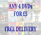 The Cheap DVDs Collection Of Films Box Set Season Movie DVD Title Fast Free Post