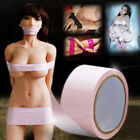 Body Bondage Fetish 15M No Glue Self Adhesive PVC Restraint Tape Fancy Sexy Toys