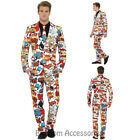 CL963 Comic Strip Standout Suit Comedy Funky Formal Fancy Dress Cartoon Costume