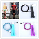 Speed Wire Skipping Adjustable Jump Rope Fitness Sport Exercise Cardio s5