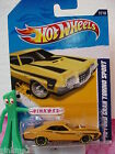 2012 i Hot Wheels '72 FORD GRAN TORINO SPORT #117∞lgt Orange-Yellow∞Muscle∞