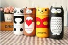 Practical Cute Vacuum Flask Stainless Steel Coffee Bottle Thermos Travel Cup