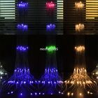 Curtain Light EU Plug 320LED String Fairy 3Mx3M Christmas Balcony Fashion new