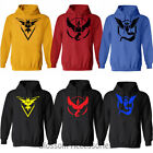 K203 Pokemon Go Team Instinct Pokeball Winter Hoodies Sweaters Top Sweatshirt