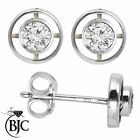 BJC® 18ct White Gold Round Brilliant Cut Diamond Stud 0.40ct Earrings Studs ER36