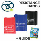 New Exercise Resistance Bands Fitness Workout Stretch Crossfit Gym Training