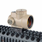 Reflex Style MRO 1x25 Adjustable Red Dot Sight 2.0 MOA With High/Low Mount