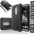 Hybrid Rugged Rubber Shockproof Hard Case Protective Slim Cover for ZTE Axon 7
