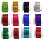 1 Set of 12pcs Indian Wedding Fashion Plain Bangles/Chudi For Girls 2.8 Inch