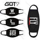 Kpop GOT7 Mouth Mask Fly Leader Wang Jackson Birthday 852 Mark Face Muffle
