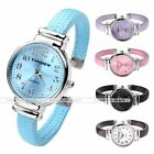 Fashion Women's Quartz Analog Wrist Watch Cuff Bangle Bracelet Band Watch Gift