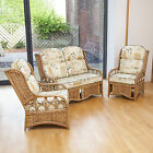 Alfresia Penang Cane Conservatory Furniture Full Suite with Luxury Cushions