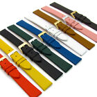Extra Long XL Fine Calf Leather Watch Strap 16mm 18mm 20mm 22mm Lots of Colours