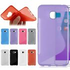 Flexible Soft TPU Gel Silicone S-Line Back Case Cover Skin For Samsung Galaxy C5