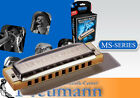 HOHNER Blues Harp MS Diatonisch Richter Mundharmonika
