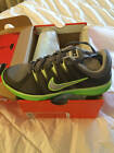 NEW Womans NIKE LUNAR ALLWAYS TR Shoes Trainer Running SNEAKERS GreyLime 6 6.5 8