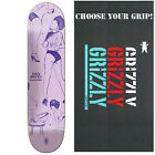 "GIRL Skateboard Deck BIEBEL PARTY GIRLS 7.875"" with GRIZZLY GRIPTAPE"