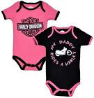 Harley-Davidson� Girls MY DADDY RIDES A HARLEY Bodysuit Creeper 2-pc Set 1103052