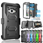 HYBRID REFINED ARMOR COVER PHONE CASE & HOLSTER FOR SAMSUNG GALAXY EXPRESS 3