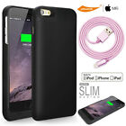 Apple MFi 3200mAh Detachable Rechargeable Battery Case+Sync Cord iPhone 6 6S