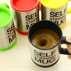 HOT Double Insulated Self Stirring Mug 400ml Electric Coffee Cup Perfect Gift