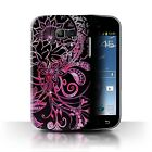 Back Case/Cover for Samsung Galaxy Trend 2 Duos/S7572/Henna Paisley Flower