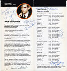 CAST MEMBERS of Out of Bounds, 2006 Finborough Theatre - HAND SIGNED FLYER