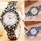 Fashion Classic Men&Women Quartz Dress Skull Print Sport Silicone Analog Watch