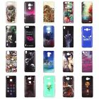 Back Patterned Soft TPU Silicone Ultra Thin Fashion Luxury Case Cover For Huawei