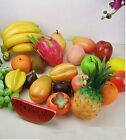 1Pc Color Lifelike Artificial Plastic Fruit kitchen Fake Display Home Food Decor