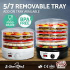 5-Star Chef 5/7 Trays Food Dehydrator Commercial Fruit Jerky Dryer Maker