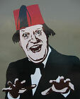 MEN'S T SHIRT Tommy Cooper comedy hero funny man british 80s just like that fez
