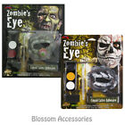 A909 Zombie Eye Skull Gory Special Effects Halloween Horror Gory Make Up Scary