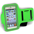 Sports Leather Pouch Armband Cover for Gym Running & Jogging fits iPhone 4 & 5