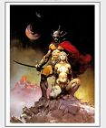 Fighting Men of Mars Print Art by Frank Frazetta Matte