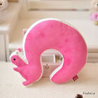 1PC Soft Travel U-shaped Pillow Air Cushion Neck Rest Squirrel Tail Popular
