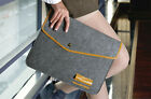 Leather Felt Sleeve Laptop Case Cover Macbook Pro Air Microsoft Surface Pro 3/4