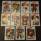 1988-89 OPC PITTSBURGH PENGUINS Select from LIST NHL HOCKEY CARDS O-PEE-CHEE