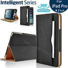 AUTO SLEEP-Wake Feature Stand Leather Wallet Case iPad Air/Pro12.9/9.7/Mini1234