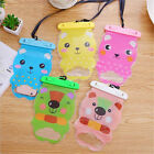 New Cute Cartoon Bear Waterproof  Bag Dry Pouch For Mobile Phone