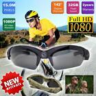 15MP HD1080P Video glasses DVR Sport Action Camcorder Skiing Sunglasses Camera