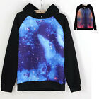 Unisex Galaxy Astronomy Print Sweater Tops Outerwear  Jumper Hoodie Cool