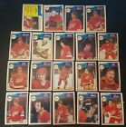 1983-84 OPC DETROIT RED WINGS Select from LIST NHL HOCKEY CARDS O-PEE-CHEE