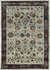 Sphinx Gray Leaves Scrolls Petals Vines Transitional Area Rug Floral 6842D