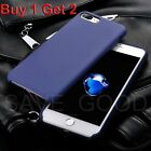 UK Luxury Ultra Thin Soft TPU Back Phone Case Slim Cover For Apple iPhone 7 Plus