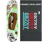 "ALIEN WORKSHOP Skateboard Deck PREMONITIONS BURIED 8.25"" with GRIZZLY GRIPTAPE"