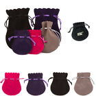 Luxury Bell Suede Like Jewellery Gift Pouches Bags Various Printing Available