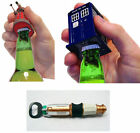 Dr Who - Bottle Opener With Sound Effects New & Official Tardis/Dalek/Sonic
